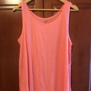 Crown and Ivy Coral Tank Size Medium NWT